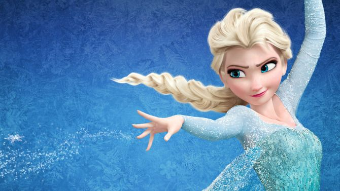 cartone animato frozen