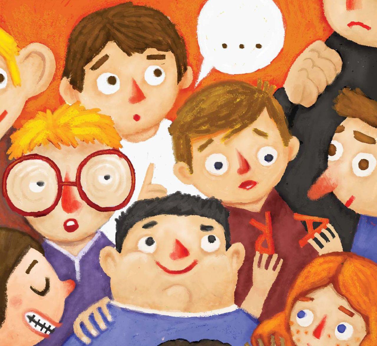 Illustrazione-di-Tomas-Hijo-tratta-dal-volume-Il-Club-degli-Strani