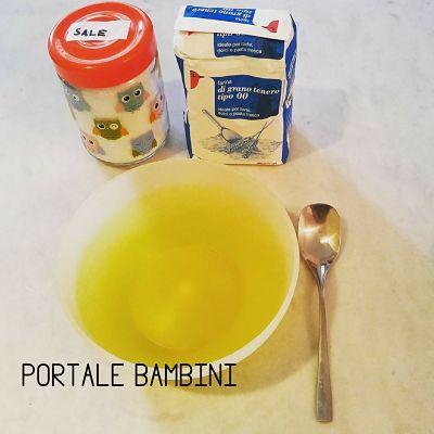 ricetta pasta di sale