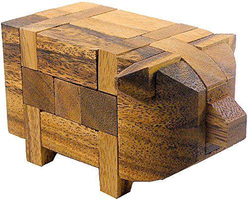 maialino di legno