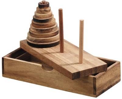 torre di hanoi: gioco educativo rompicapo