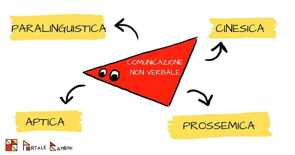 comunicazione non verbale schema dei componenti