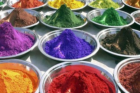colori naturali per dipingere