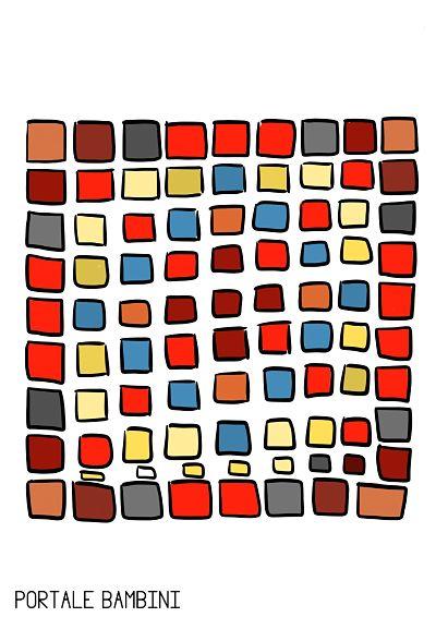 disegni mosaico per bambini 4