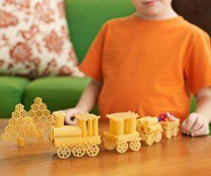 pasta building, lavoretto con la pasta
