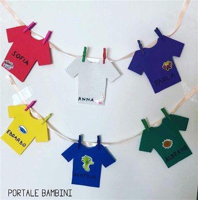 Idee e spunti per l 39 accoglienza a scuola portale bambini for Lavoretti accoglienza scuola infanzia