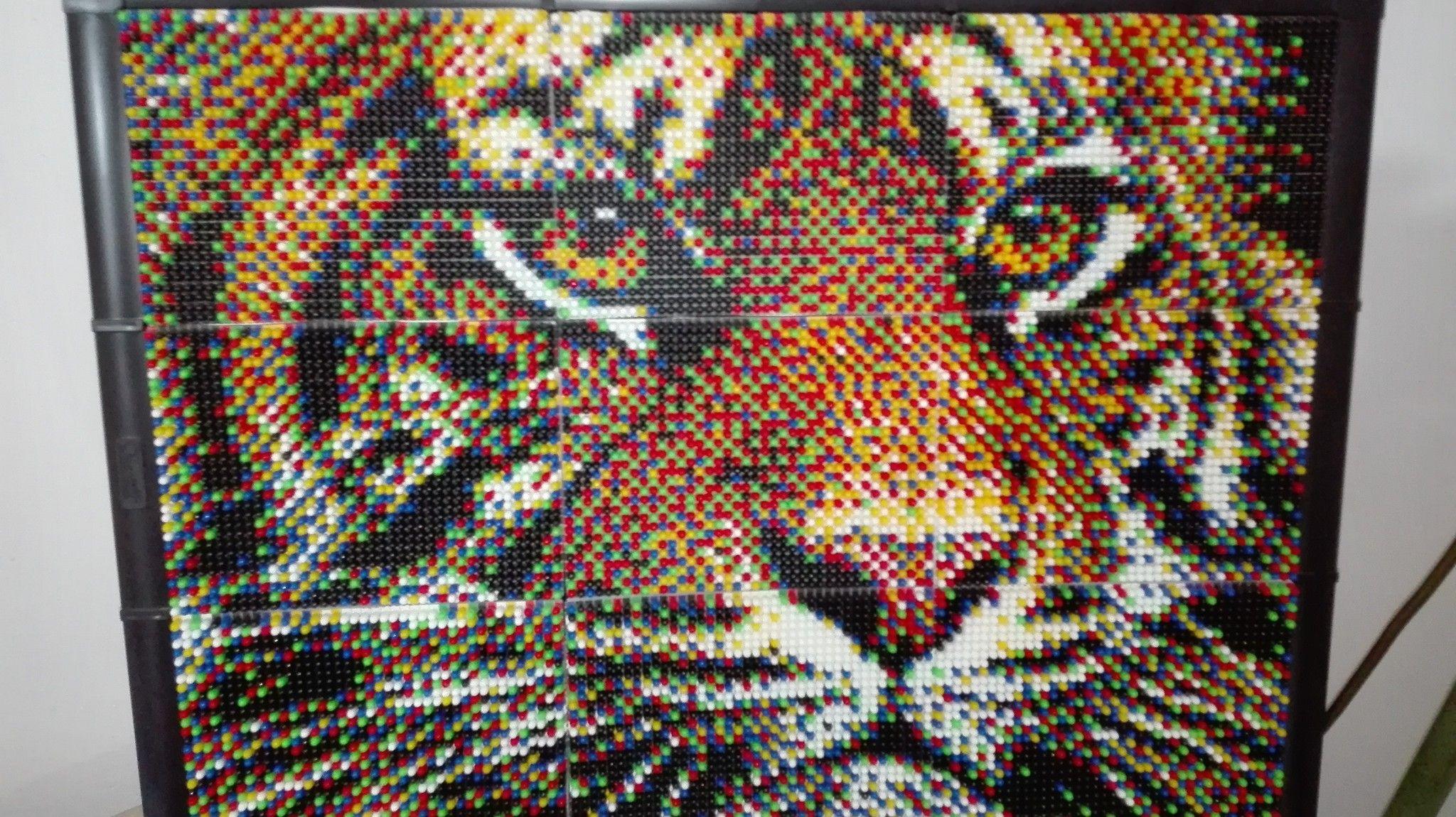 Pixel Art Creare Capolavori Con I Chiodini Di Plastica Portale