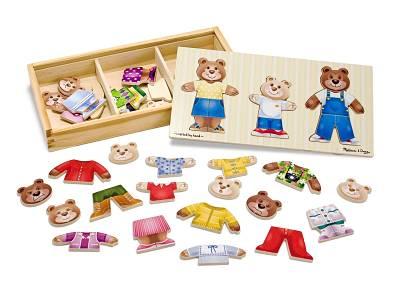 puzzle per bambini di 3 anni legno