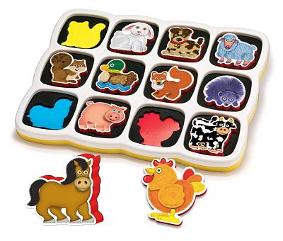puzzle magnetico per bambini di 2 anni