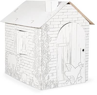 casetta di cartone per bambini