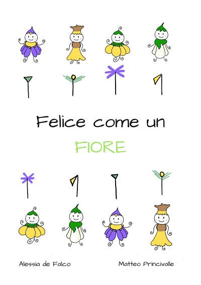felice come un fiore - cover ebook