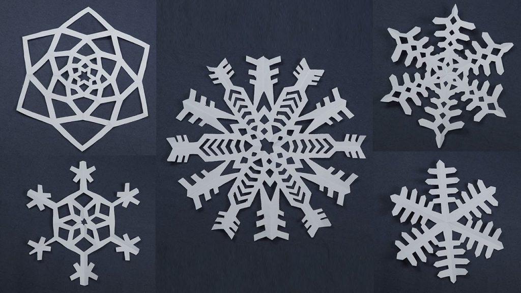 Fiocchi Di Neve Di Carta Facili : Fiocchi di neve di carta portale bambini