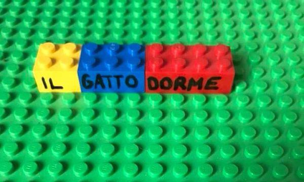 analisi logica con i LEGO