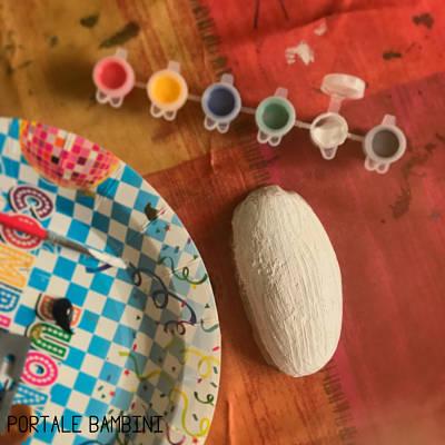 colorare i sassi