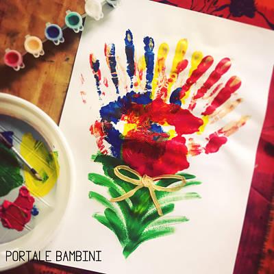 Disegni E Pittura Con Le Mani Scopri Le Nostre Idee Portale Bambini