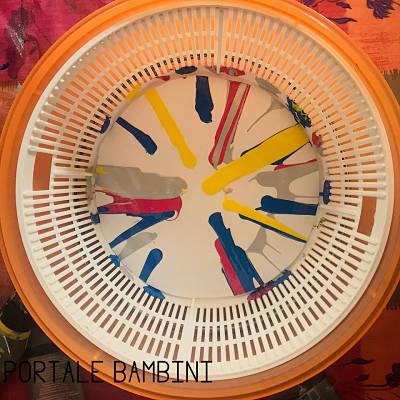 spin art bambini colori 2