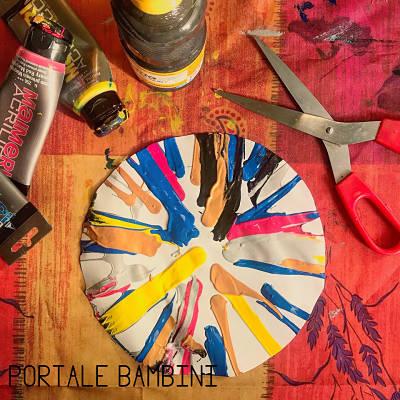 spin art bambini colori 4