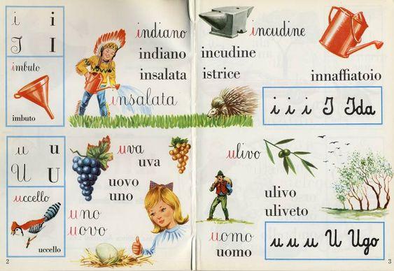 alfabetiere lettere alfabeto