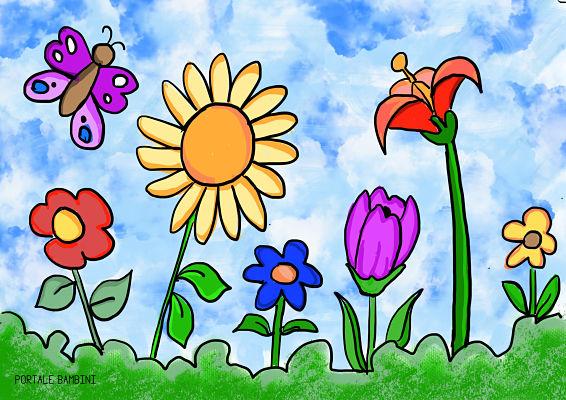 disegni di primavera