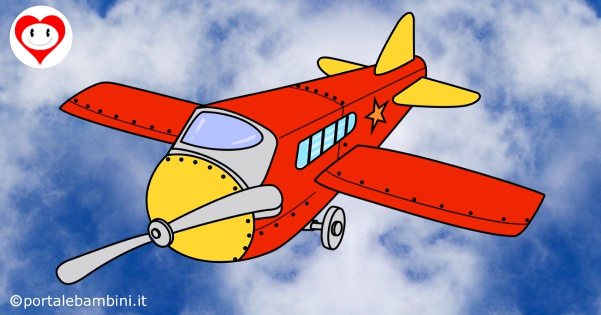 aerei da colorare