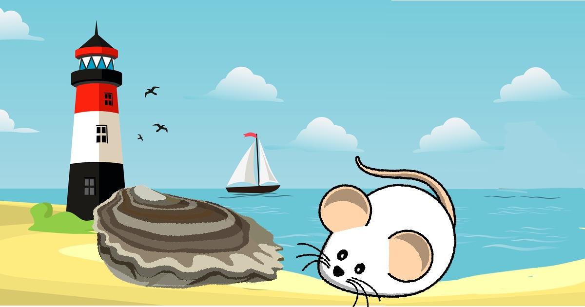 il topo e l'ostrica favola esopo