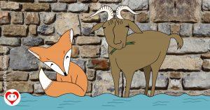 la volpe e il becco