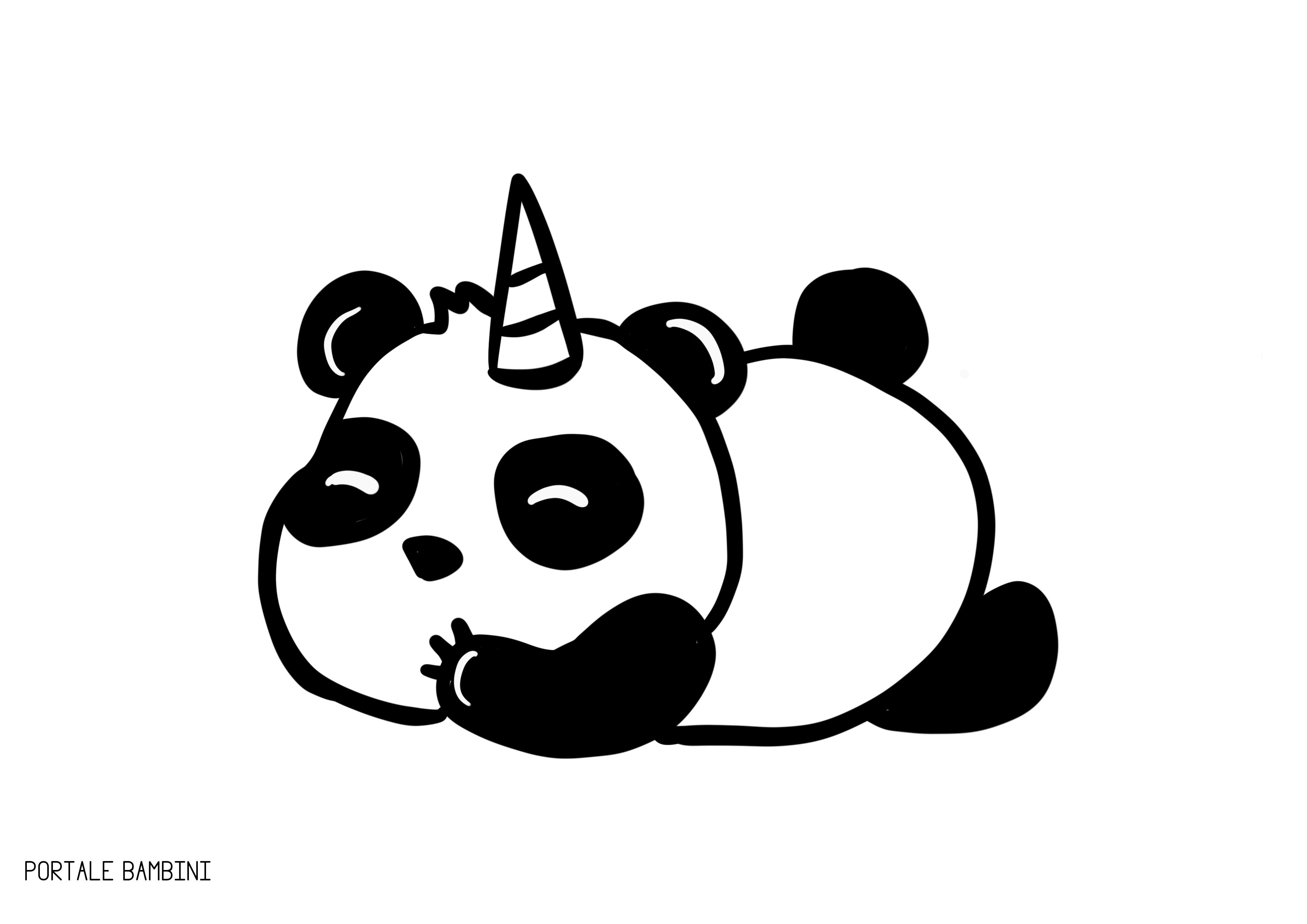 Pandacorno Pandacorni Da Colorare E Racconti Portale Bambini