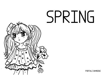 stagioni in inglese primavera