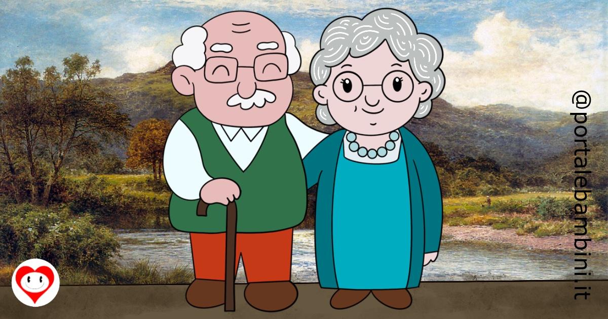 biglietti di auguri per i nonni