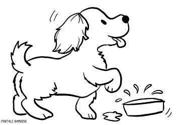 disegni di cani da colorare 2