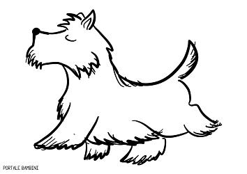 disegni di cani da colorare 5