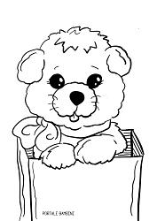 disegni di cani da colorare 7