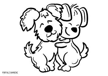 disegni di cani da colorare 8