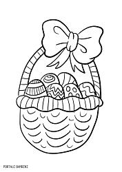 disegni di pasqua da stampare e colorare 5
