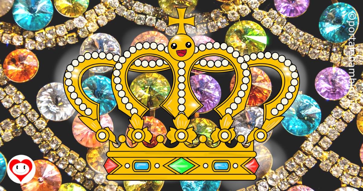 corona da colorare