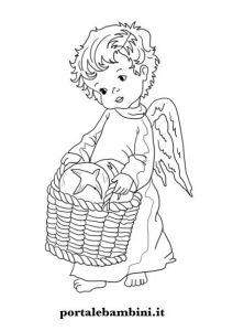 disegni di angeli da stampare e colorare 1