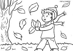 Disegni D Autunno Da Stampare E Colorare Gratis Portale Bambini