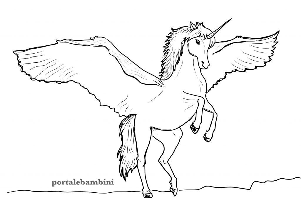 unicorni da colorare 7