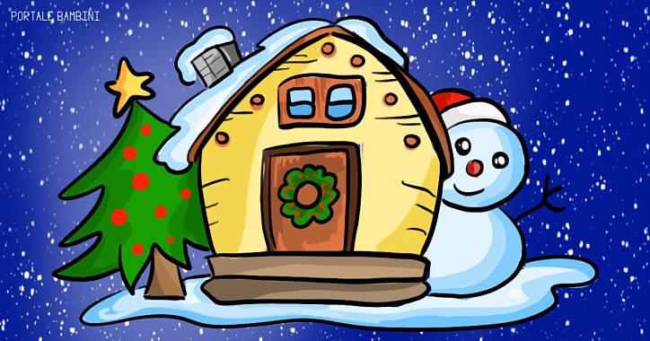 Disegni sull 39 inverno e paesaggi invernali da colorare for Disegni di paesaggi colorati