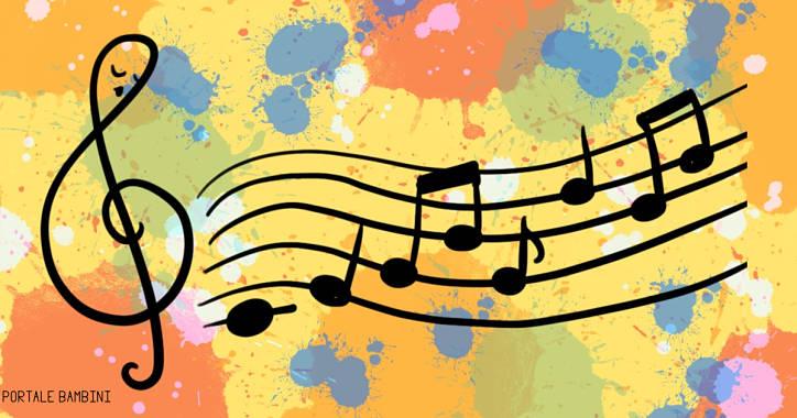Disegni Di Note Musicali Da Stampare E Colorare Portale Bambini