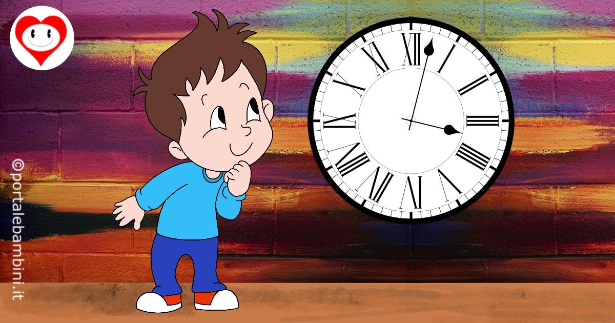 orologio da stampare