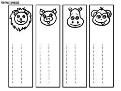 Segnalibri Personalizzabili Da Stampare Gratis Portale Bambini