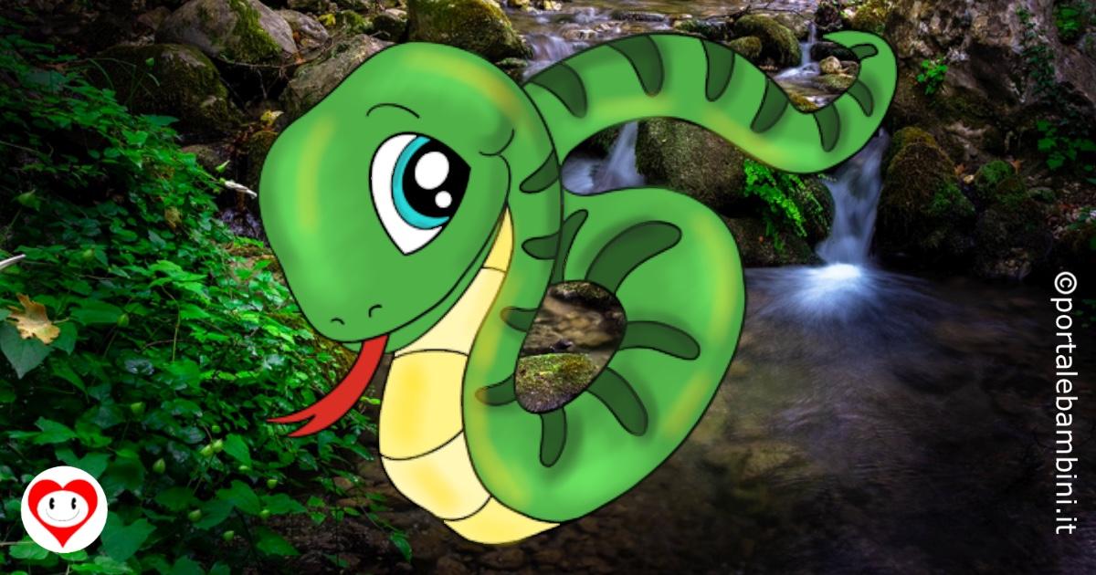 serpenti da colorare