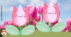 tulipani da colorare