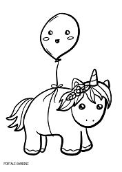 Disegni Di Unicorni E Unicorni Kawaii Da Colorare Portale Bambini