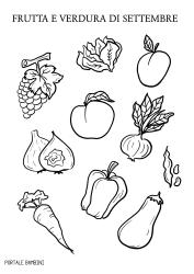 frutta e verdura di stagione settembre portale bambini
