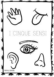 i cinque sensi scuola primaria