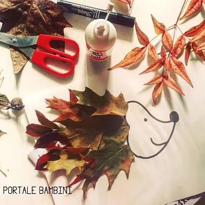 lavoretti con le foglie 2