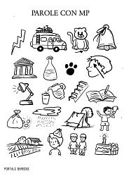 Parole con mp scopri le schede e le idee didattiche for Parole con mp per bambini