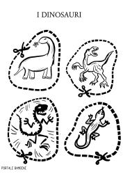 i dinosauri schede didattiche scuola primaria